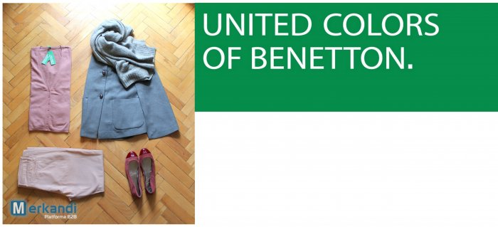 Benetton clothes stock lot for sale | Stock lot clothing