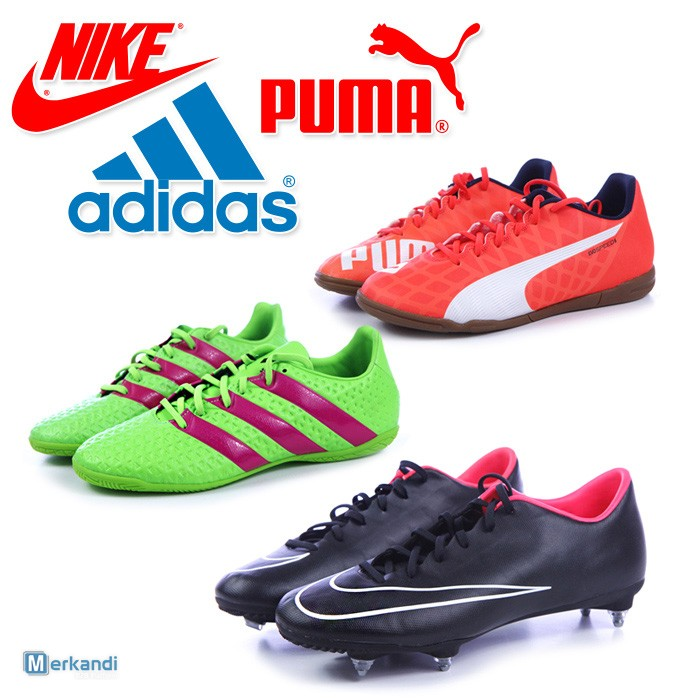 4f143490836 I recommend the offer: ADIDAS, NIKE, PUMA soccer shoes for men wholesale  [305829] | Sport shoes | merkandi.ie